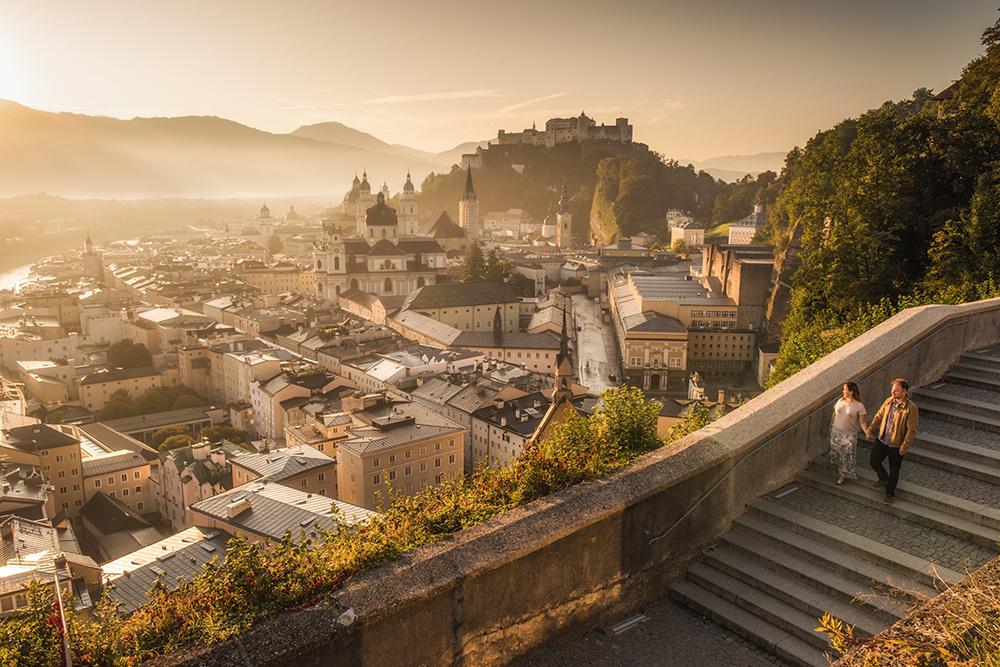 Sesja zdjęciowa w Salzburgu, sesja narzeczeńska