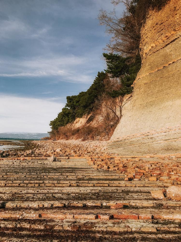 Wybrzeże Słowenii, słoweńskie wybrzeże Adriatyku, słowenia plaże, Słowenia Adriatyk, najpiękniejsze miejsca Słowenii, co warto zobaczyć w Słowenii, Debeli Rtic, plaże Słowenii